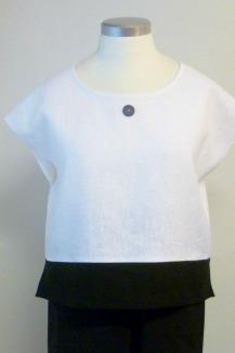 Pikkukippari-paita valkoinen