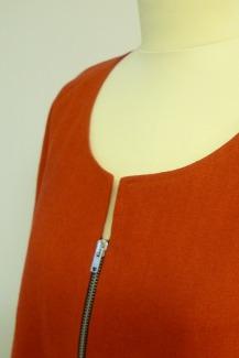 Vetoketju-jakku yläosa
