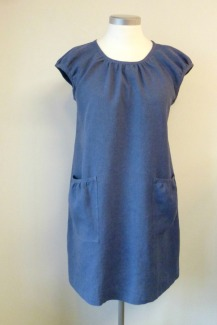 Pirpana-mekko farkkupellavaa 1